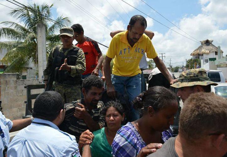 Los balseros fueron encontrados en la parte oriental de Cozumel. (Gustavo Villegas/SIPSE)