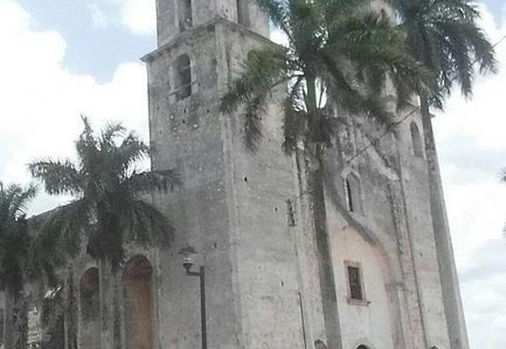 La señorial iglesia de Espita, que según expertos pudo ser levantada en el siglo XVII o por principios del XVIII. (SIPSE)