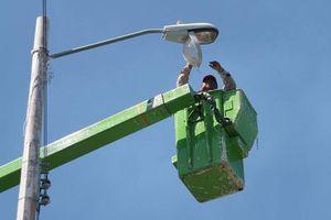 Anuncian reparación de luminarias en Cozumel