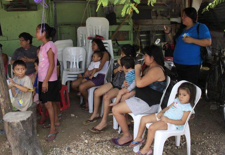 lo primordial es que los pobladores tengan un día de fiesta y en familia previo a la Navidad. (Tomás Álvarez/SIPSE)