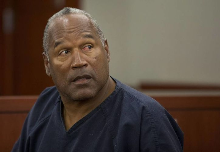 El exdeportista O.J. Simpson, en el tribunal del distrito de Clark County, en Las Vegas, Nevada. (EFE)