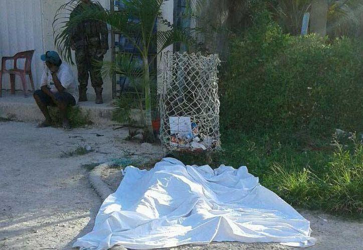 Un pescador de Punta Allen perdió la vida cuando jugaba con una pistola. (Sara Cauich/SIPSE)