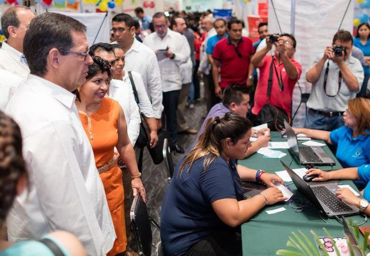 Las declaraciones de la STPS se dieron en Mérida, durante la inauguración de la Feria del Empleo Estatal. (Milenio Novedades)