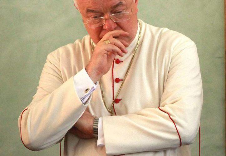 Josef Wesolowski fue destituido por el Vaticano como nuncio apostólico en República Dominicana en agosto de 2013, acusado por delitos de pederastia por autoridades de ese país. (Archivo/EFE)