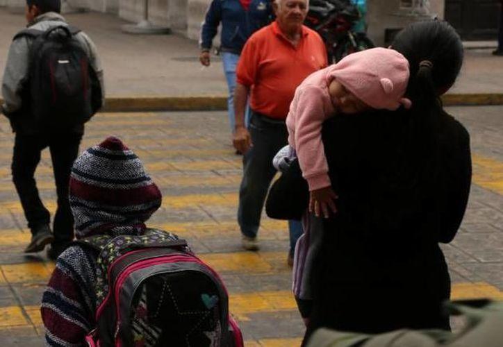 Siguen las mañanas frías, autoridades recomiendan extremar precauciones para evitar enfermedades respiratorias. (SIPSE)