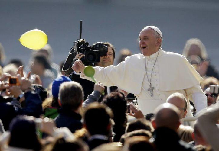 Imagen de la audiencia general de Papa Francisco en el Vaticano, en donde habló del pecado y el perdón. (AP)