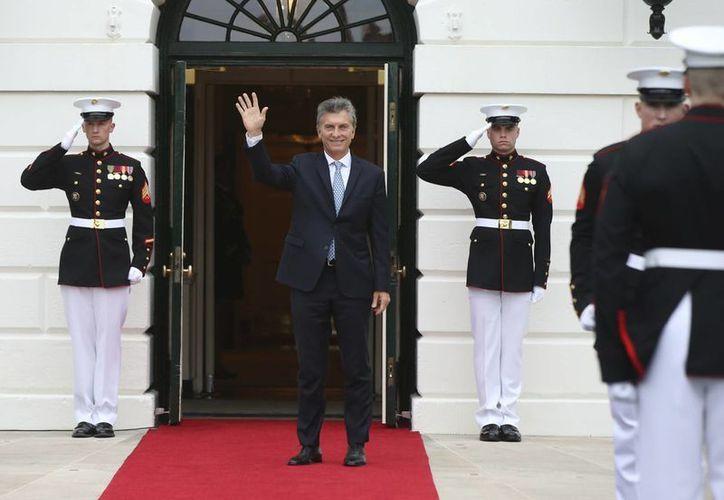 El presidente de Argentina, Mauricio Macri, figura como director en dos empresas 'fantasma' radicadas en paraísos fiscales. (Agencias)