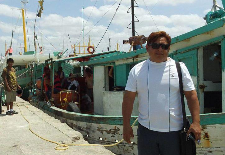 El empresario pesquero Saúl Madera. (SIPSE)