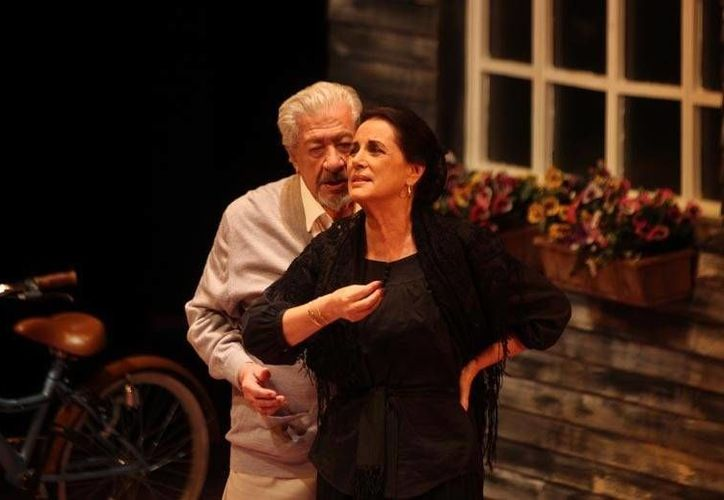 La puesta en escena, que se presenta en el Teatro Libanés de la Ciudad de México. (Milenio)
