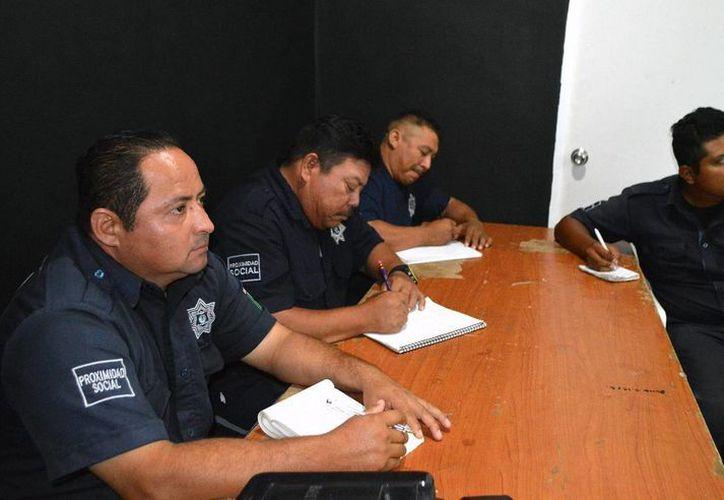 Están en proceso de capacitación 72 policías de la corporación. (Cortesía/SIPSE)