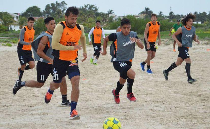 Los Venados continúan sus entrenamientos en Progreso. (Facebook)