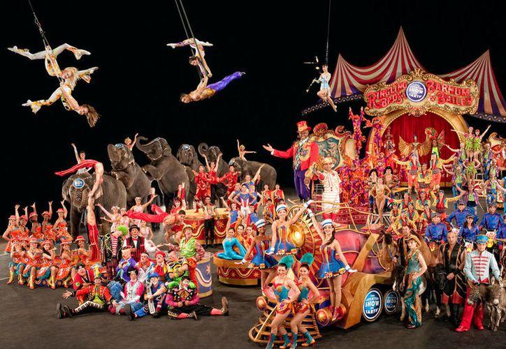 El 21 de mayo cerrará el circo  Ringling Bros. and Barnum & Bailey. (Foto: Contexto/Internet)