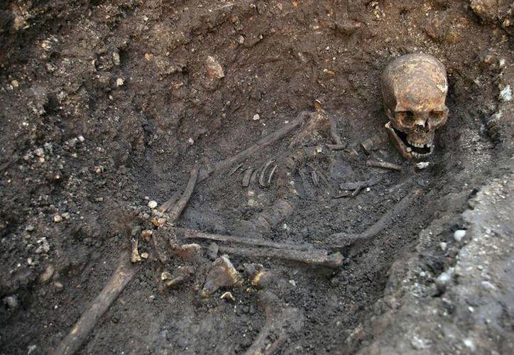 En septiembre de 2012 fueron hallados los restos del Rey Ricardo III, fallecido en batalla en 1485. (AP)