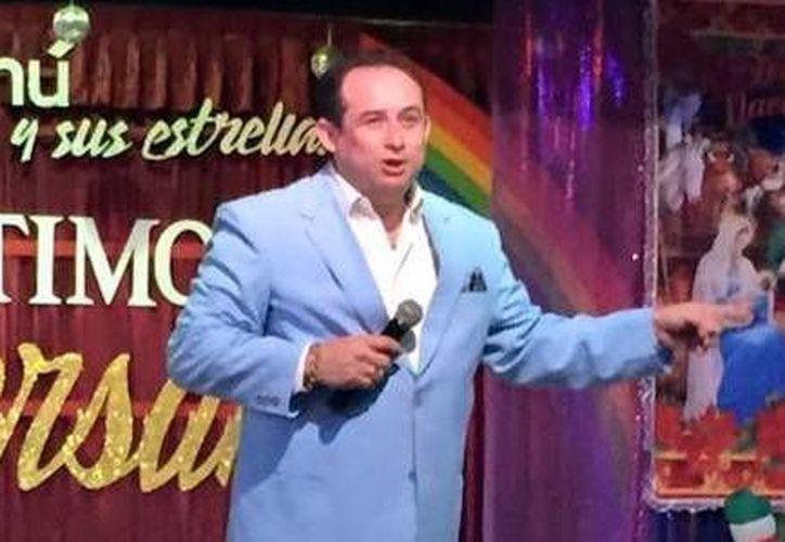 Johnny Cantarell hará que los asistentes pasen un rato divertido en la inauguración del espectáculo en el Concert Hall de Casino Life.(Milenio Novedades)