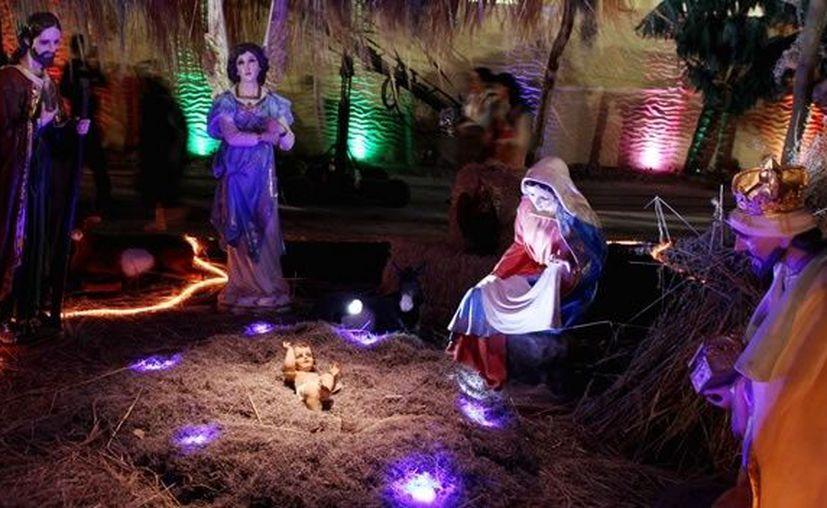 El nacimiento de Jesús es un elemento indispensable en las casas de millones de mexicanos en esta época. (Notimex)