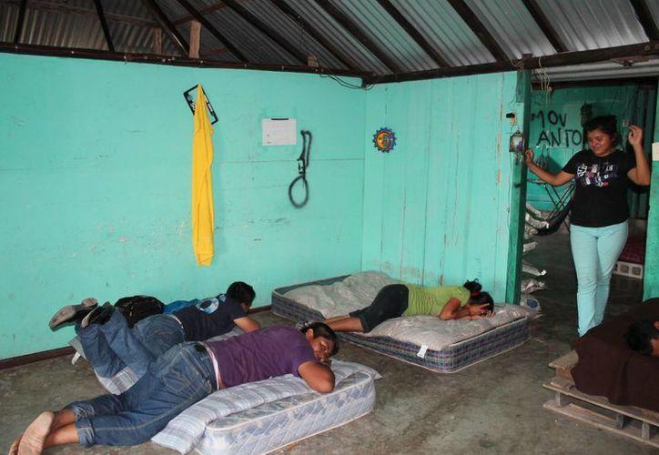 Ninguna instancia apoya a los jóvenes que habitan el albergue estudiantil de Felipe Carrillo Puerto. (Redacción/SIPSE)