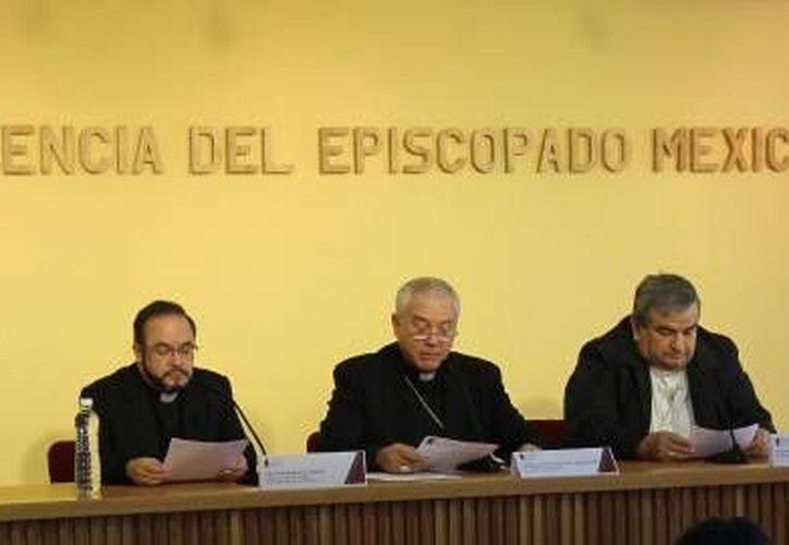 Imagen del Episcopado Mexicano quien se pronunció en contra de la violencia en el país en días pasados. (Milenio Novedades)
