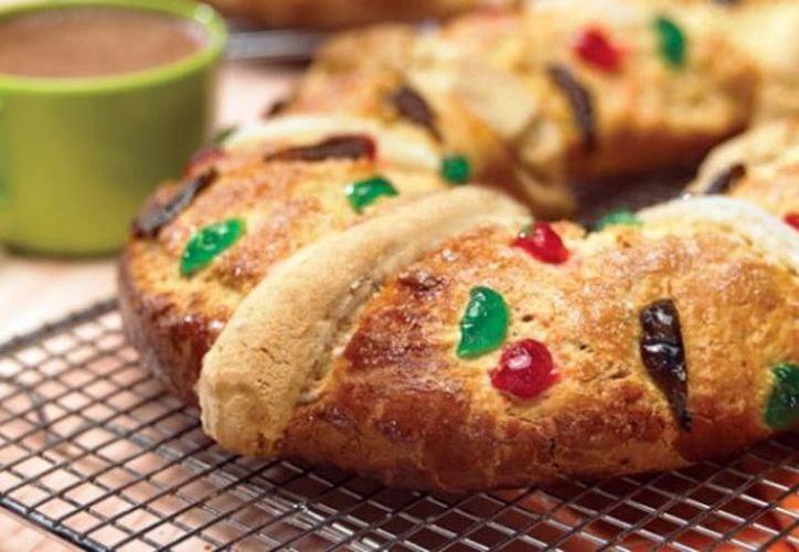Cómo comer una rosca de Reyes de manera saludable. (Fotos: Archivo)
