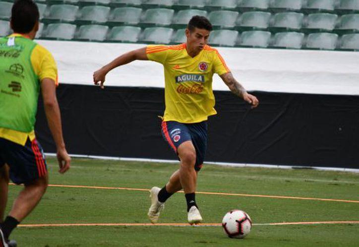 El equipo colombiano contará en este amistoso de la jornada FIFA con James Rodríguez. (Twitter)