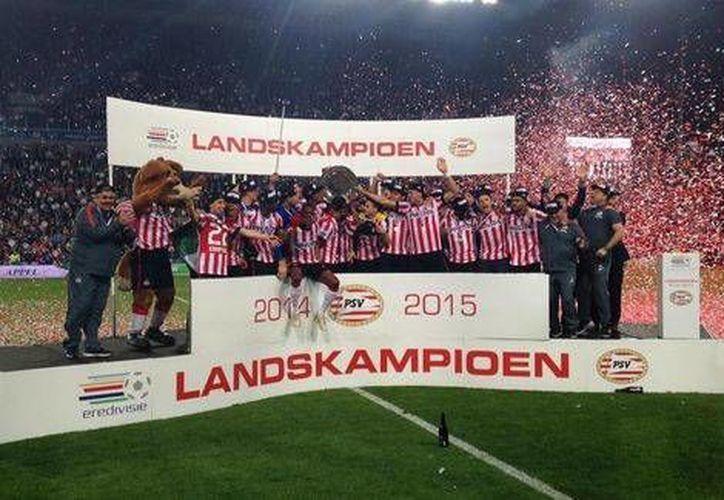 El PSV Eindhoven no lograba un campeonato desde el año 2008. (Milenio)