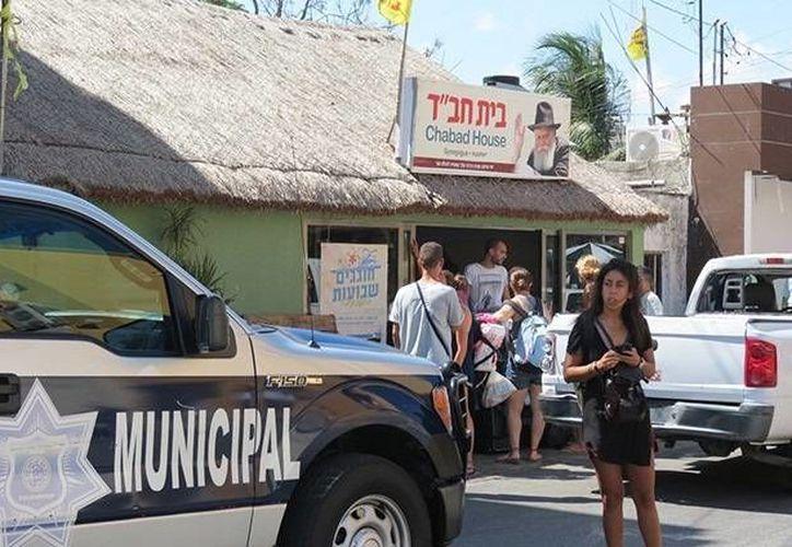El centro Beit Jabad no contaba con documentos y el lugar operaba sin licencia de funcionamiento. (Foto/Internet)