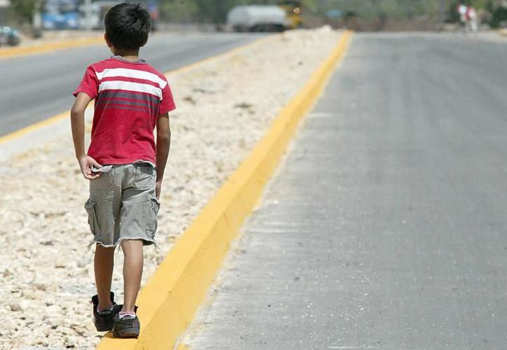 Más omisión de cuidados contra menores de edad. (Foto: archivo/SIPSE)