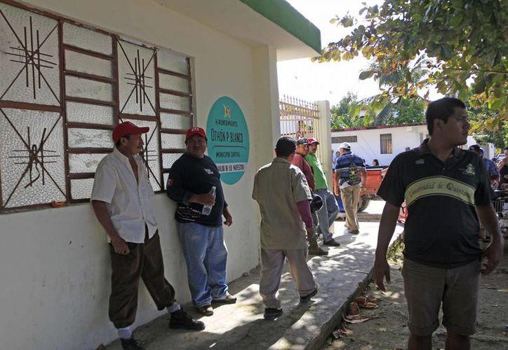 En una asamblea que duró una hora y 15 minutos, se dio a conocer el recurso faltante que fue por 500 mil pesos.