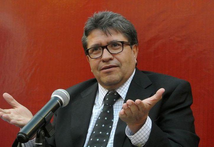 Ricardo Monreal sentenció que su plazo para irse es el 14 de diciembre. (Foto: Redacción)