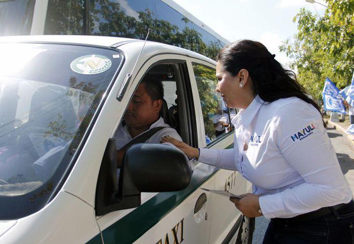 La función de Mayuli en el Senado será gestionar recursos para la profesionalización de los cuerpos policíacos. (Foto: Redacción)