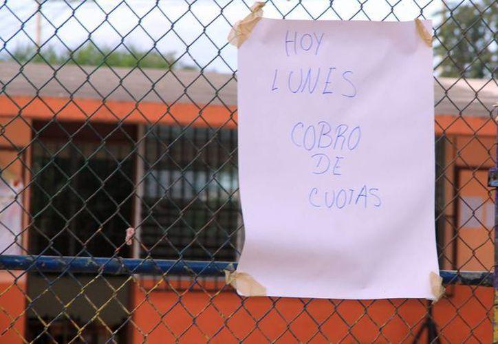 Algunas escuelas de Mérida continúan con el cobro de cuotas. (Milenio Novedades)