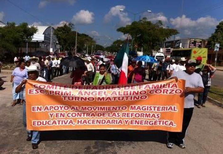 Se informa que habrá más movilizaciones en Tuxtla Gutiérrez en el transcurso del día. (Milenio)