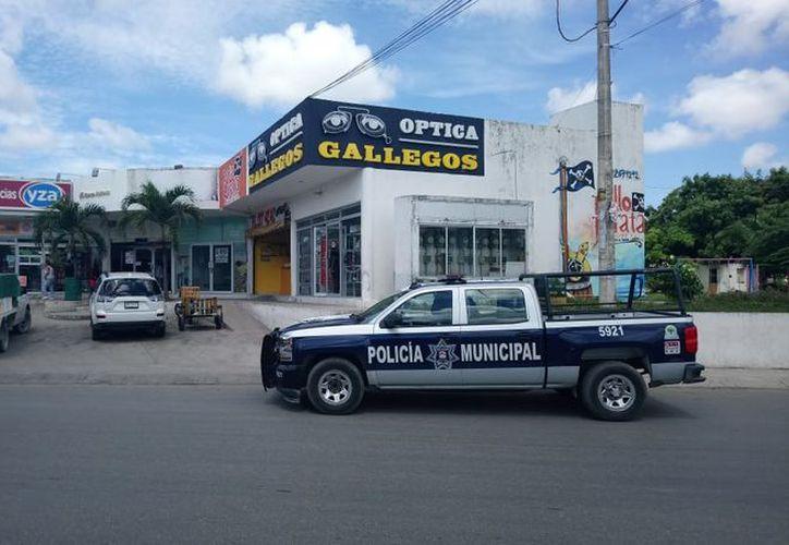 Los hechos se registraron entre las avenidas Lakín y Miguel Hidalgo, de la ciudad de Cancún. (Redacción/SIPSE)