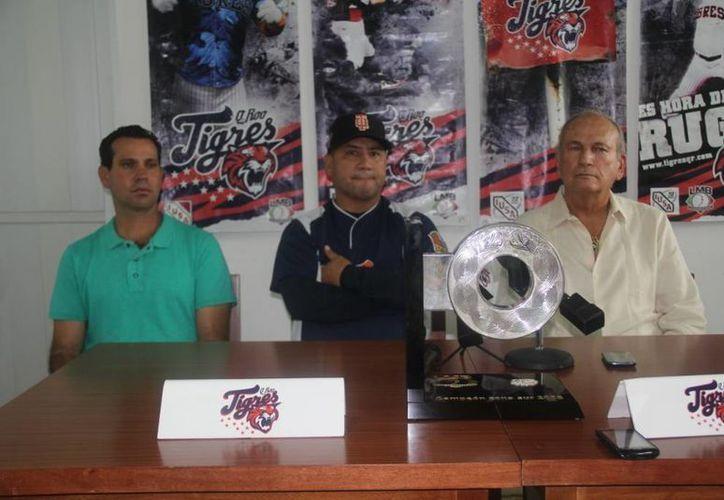 Directivos y el manager bengalí dieron una conferencia de prensa el día de ayer. (Archivo/SIPSE)