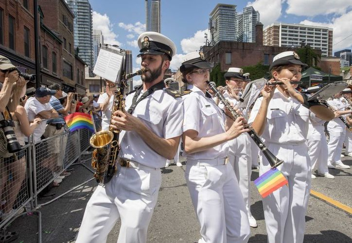 Las reacciones al veto de Trump a las personas transexuales en el Ejército no se ha hecho esperar.  (Twitter / @CanadianForces).
