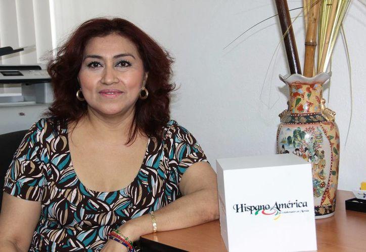 Rosa María admite que el amor a su trabajo es total y a pesar de haber tenido episodios difíciles en su salud. (Milenio Novedades)