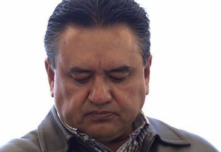 El secretario general del SME, Martín Esparza Flores lamenta el fallo de la Suprema Corte de Justicia de la Nación. (Notimex)