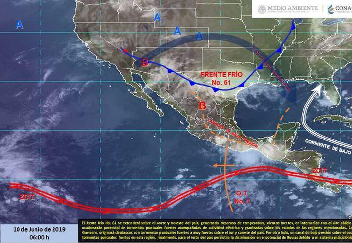 Se espera una sensación térmica de hasta 39 grados en varios municipios. (Servicio Meteorológico Nacional)