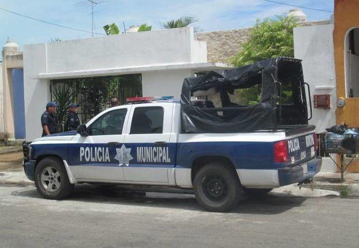 Policías municipales detuvieron al sujeto. (Archivo/SIPSE)