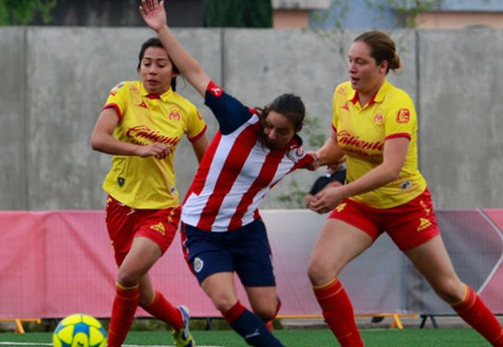 El equipo de Morelia femenil se refuerza para el Torneo Clausura 2018. (Foto Twitter: @LIGAMXFemenil)