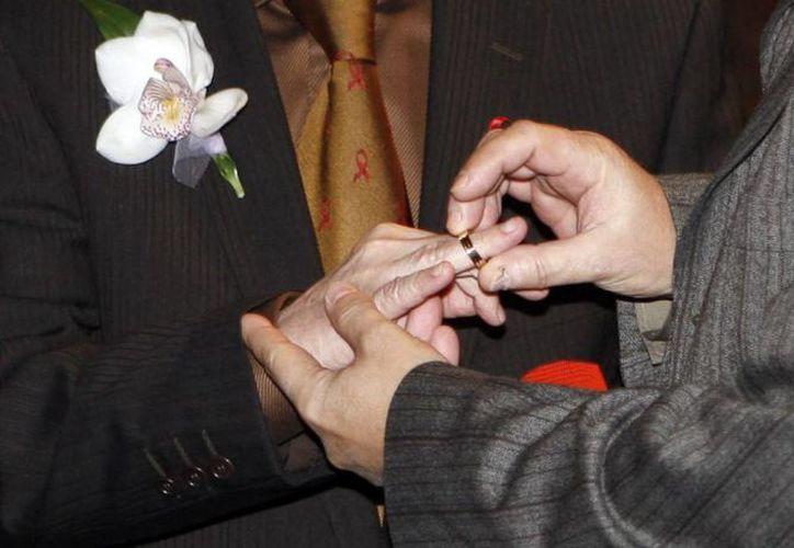 En el último año, mil 277 parejas del mismo sexo lograron registrar sus uniones civiles. (Archivo/EFE)