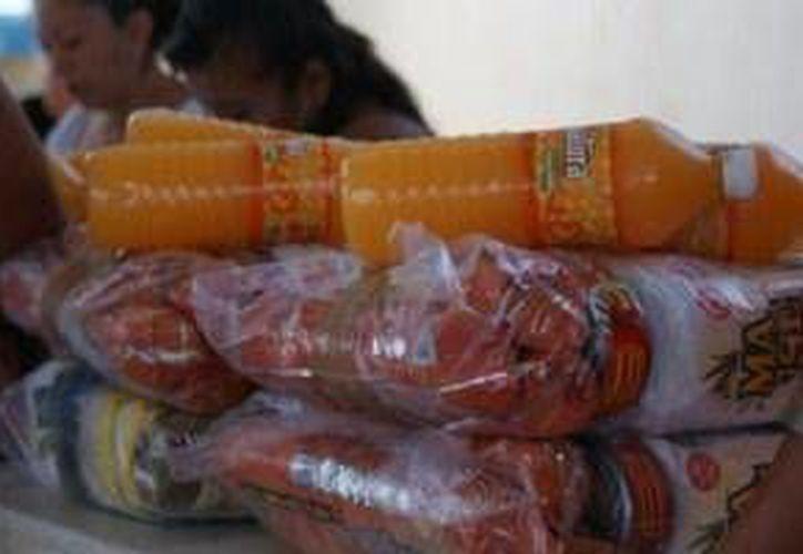 La campaña se difundirá en empresas para que los trabajadores donen un kilo de algún producto. (Foto/elarsenal.net)