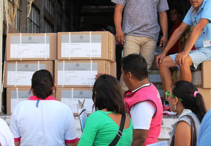 El distrito 1 del INE que se encarga de la realización de las elecciones para senadores y diputados federales. (Adrián Barreto)