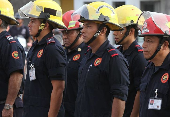 Este año podría concretarse la construcción del nuevo edificio de bomberos de Cozumel.  (Irving Canul/SIPSE)