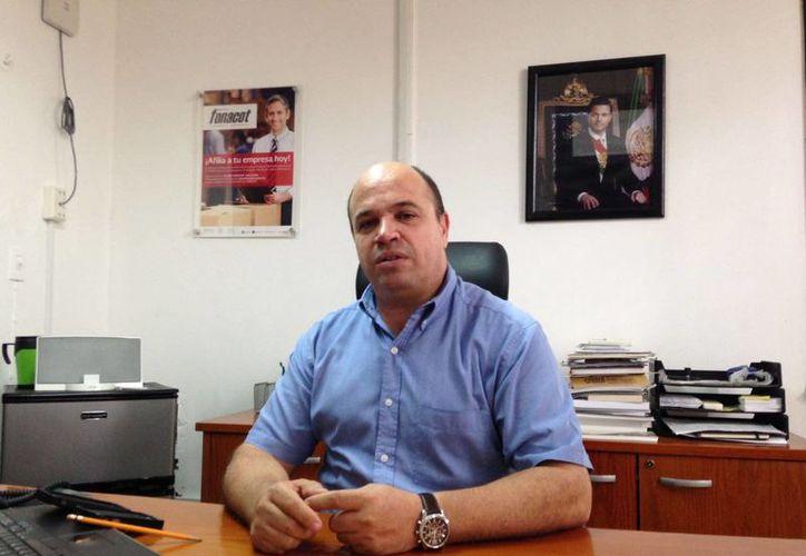 Guillermo Pérez Azcona habló sobre los financiamientos del Infonacot. (SIPSE)