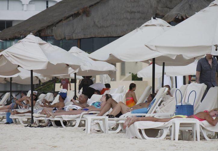 El fin de semana pasado se registró una ocupación del 85%. (Jesús Tijerina/SIPSE)