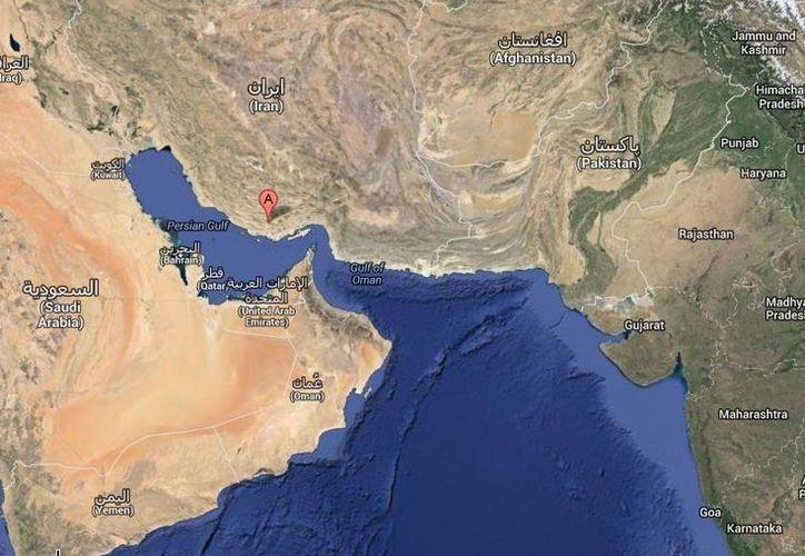 Un sismo de 5.5 grados Richter afectó Bastak, que es un pequeño pueblo situado en el sur de Irán. (Google Maps)