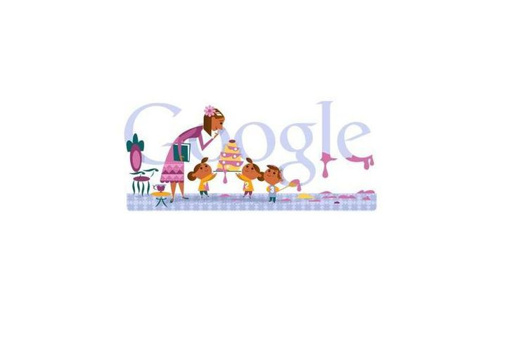 A través de su doodle, Google rinde homenaje a todas las mamás. (google.com)