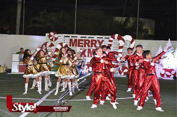 Colorido festival navideño