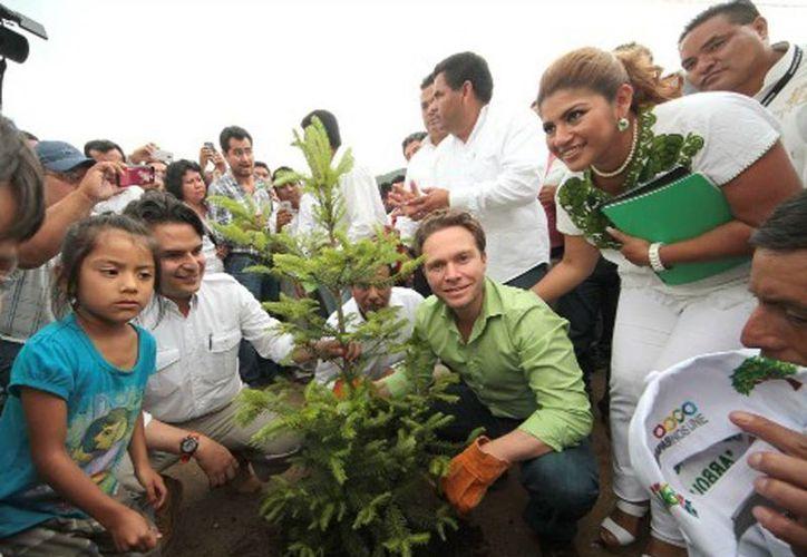 Manuel Velasco Coello dijo que se invertirá para la protección de este importante ecosistema en el país. (Milenio)