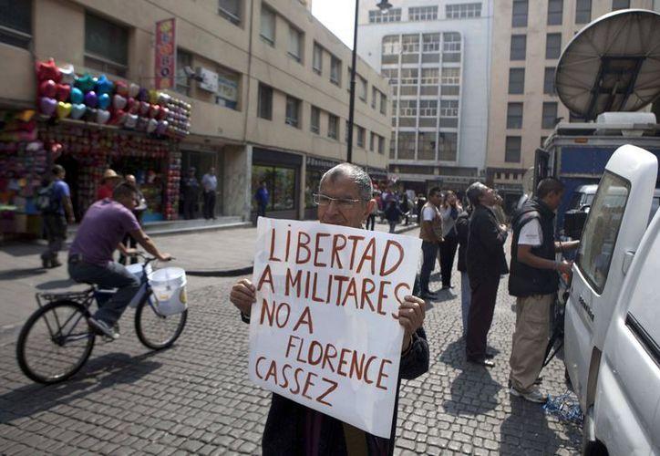 La liberación de Florence Cassez levantó inconformidad en muchos sectores. (Agencias)